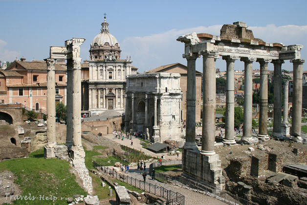 Италия - Рим - Римский форум